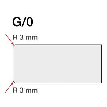 Blat de bucătărie Alb 1106 PE 4100 x 600 mm G 0